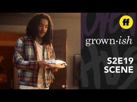 grown-ish Season 2, Episode 19 | Luca Gives Aaron a Gift | Freeform