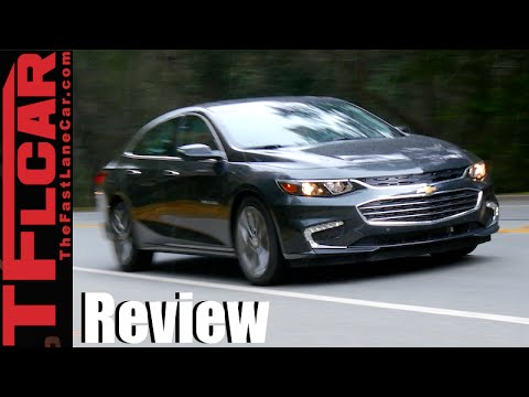 2016 Chevy Malibu First Drive Review: Longer, Leaner & Sexier GM