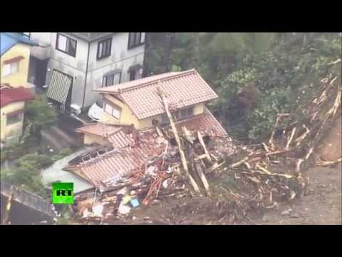 Raw - At least 18 people have been killed and 13 others remain missing after landslides caused by torrential rain hit the Japanese city of Hiroshima on Wednesday morning. Authorities warn that more...