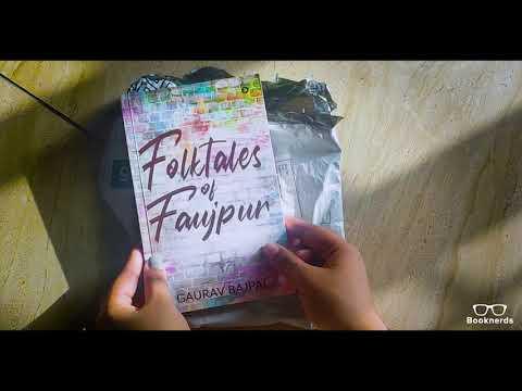 Booknerds Unboxing   Folktales of Faujpur   Gaurav Bajpai