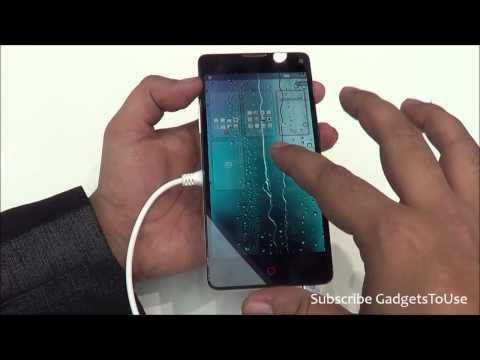 ZTE Nubia Z5S Mini Hands on, Quick Review, Camera, Features and Overview HD at MWC 2014