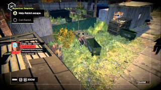 Watch Dogs - Not a job for Tyrone + Rabbit escape StealthMode
