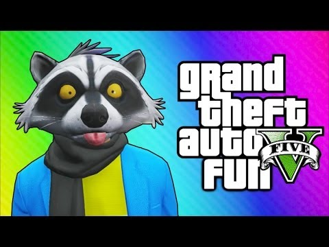 GTA 5 Online Funny Moments – The Zoo, Finding a Horse, Poop Tunnel, Crazy Taxi Driver!
