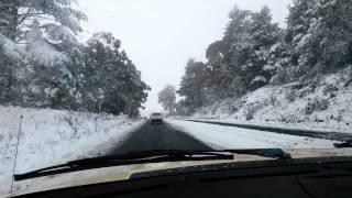 Orange Australia  City new picture : Huge Snowfall In Orange, NSW, Australia, On 17th July 2015