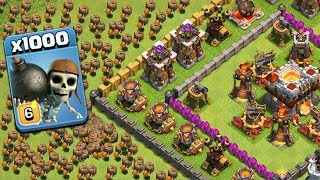 Video 1000 Wall Breaker Dramatic Attack On COC | Modded Apps Game Play MP3, 3GP, MP4, WEBM, AVI, FLV Agustus 2017