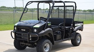 8. $11,499: 2015 Kawasaki Mule 4010 Trans 4X4 in Super Black Overview and Review