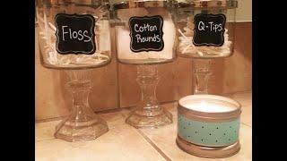 Dollar Tree DIY | Bathroom Decor