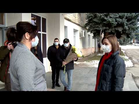 Президент Республики Молдова Майя Санду совершила сегодня рабочий визит в район Сорока