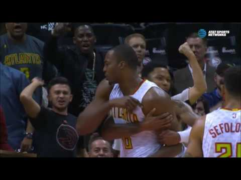 Dwight Howard upset over block of KJ McDaniels slam attempt