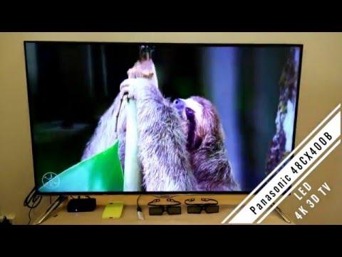 Видео Телевизор LED Panasonic TX-48CX300E