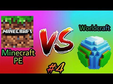 Minecraft PE vs Worldcraft 2 - Part 4