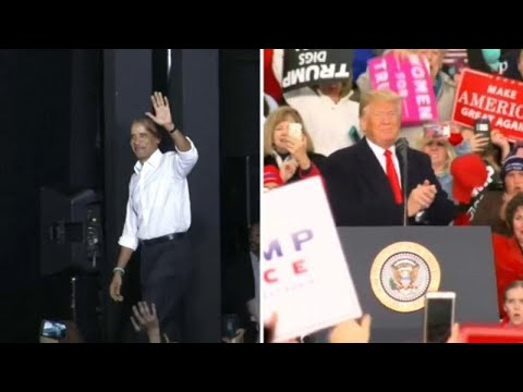 Ομπάμα και Τραμπ στη «μάχη» των ενδιάμεσων εκλογών