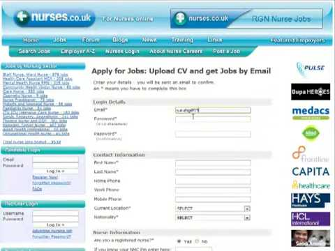 Sign up with Nurses.co.uk, search nursing jobs, RGN, RMN and HCA positions in the UK