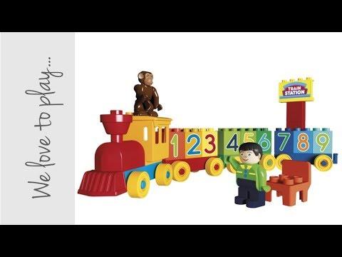 UNICO Plus / 123 Train set /  Item 8630 / Unboxing and building up /2018