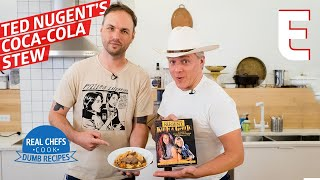 Ted Nugent's Coca-Cola Stew Recipe Is As Sugary As it Is Crazy — Real Chefs Cook Dumb Recipes by Eater
