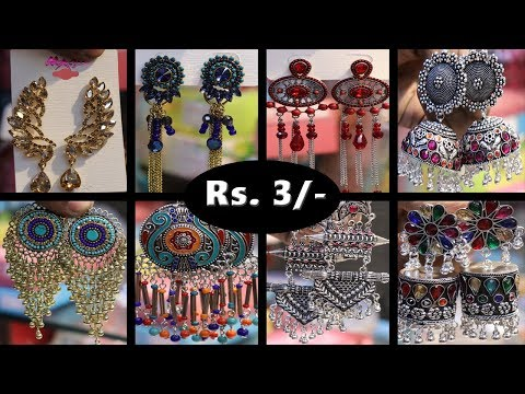 Best Collection of Oxidised, AD and Tribal Jewellery | Designer Earrings | Trendy Fancy Jewellery