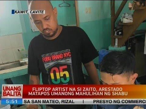 Fliptop artist na si Zaito, arestado matapos umanong mahulihan ng shabu