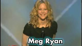 Video Meg Ryan Salutes Tom Hanks at AFI Life Achievement Award MP3, 3GP, MP4, WEBM, AVI, FLV Juli 2018