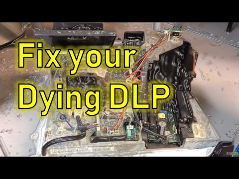 How to fix your DLP TV by simply cleaning it?