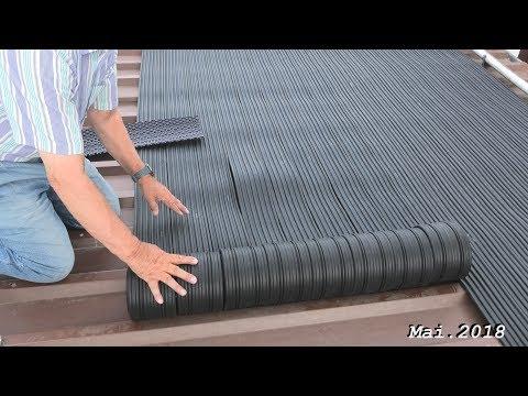 Poolheizung mit Solarabsorber Eccolar von Rodgau Pool in 4K, von tubehorst1