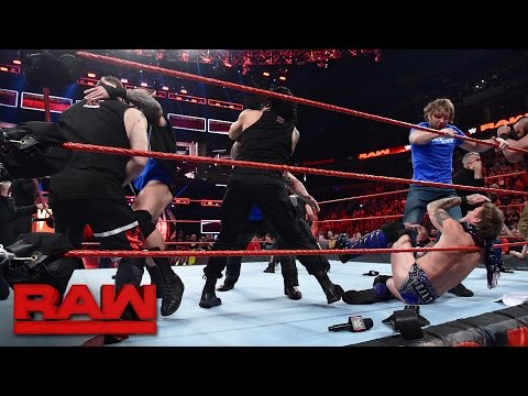Download SmackDown LIVE Superstars invade Raw: Raw, Nov. 14, 2016 HD Mp4 3GP Video and MP3
