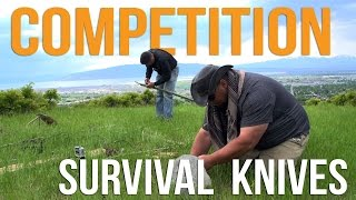Competition Survival Knives