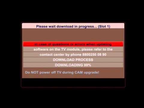 MTS CAM irdeto CI+ 1.0 updating