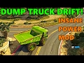 GTA 5 | Drifting the MOST POWERFUL GIANT DUMP TRUCK!