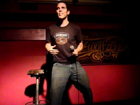 Steve-O as a rapper (Stand Up Comedy, Stuttgart 24.10.2011)
