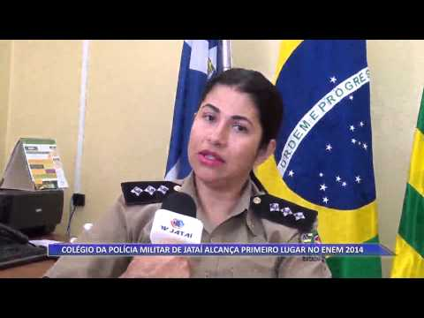 JATAÍ | Colégio da Polícia Militar do município alcança primeiro lugar no Enem 2014