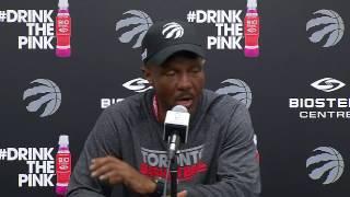 Raptors Practice: Dwane Casey - April 26, 2017 Video