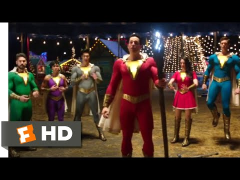 Shazam! (2019) - The Shazam Fam Scene (6/9) | Movieclips