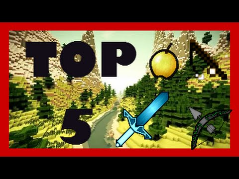 Top 5 Mejores Packs de Textura PvP para Minecraft 1.7.2 - 1.8 (видео)