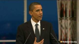 Video 2009 Nobel Peace Prize Lecture by Barack Obama MP3, 3GP, MP4, WEBM, AVI, FLV Oktober 2017