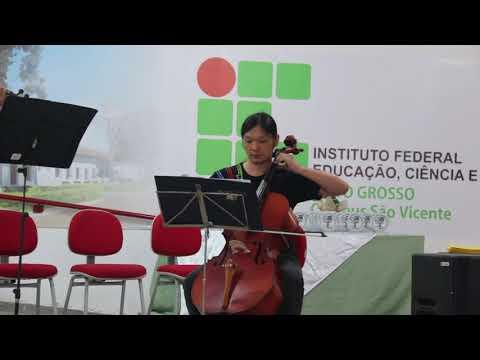 Hino de São Vicente ao som da Orquestra de Cordas da UFMT