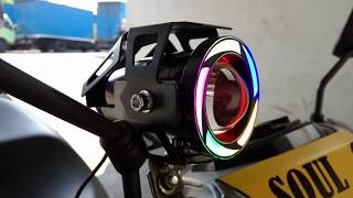 Video CARA PASANG LAMPU SOROT / TEMBAK LED CREE U7 TRANSFORMERS RAINBOW / PELANGI DI MOTOR  #Motovlog 10 MP3, 3GP, MP4, WEBM, AVI, FLV September 2018