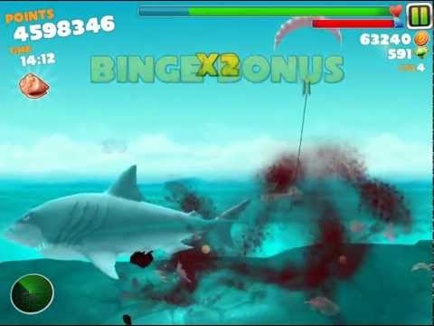 Hungry Shark Evolution Megalodon Gameplay iPad/iPhone/iPod HD 1080p