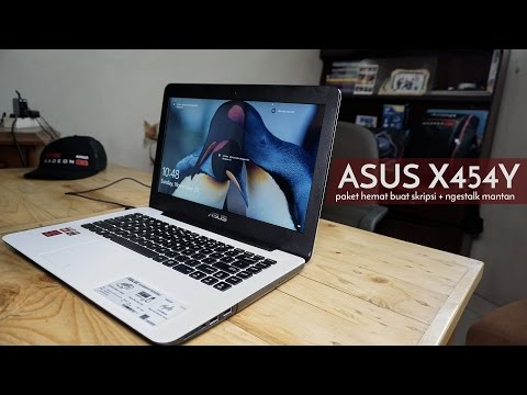 ASUS X454Y AMD A8, Notebook Budget Anak Kostan - #ReviewBray