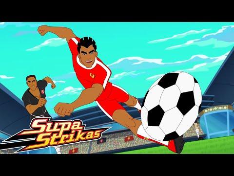 Supa Strikas Vs FC Nakama! ⚽   Broken Record!   Soccer Cartoon for Kids!