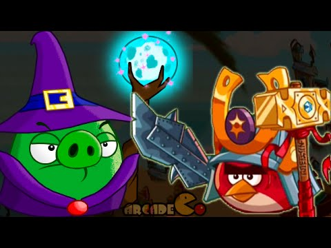 Angry Birds Epic: Wednesday Floating Hoghouse Crafting For Coin Gold Piggies