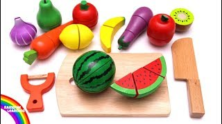 Video Learn Colors with Cutting Fruit and Vegetables Playset Pretend Play Food Toys for Kids and Children MP3, 3GP, MP4, WEBM, AVI, FLV September 2017