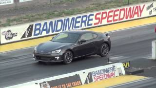 2013 Subaru BRZ Drag Race Quarter Mile