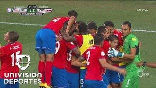 Ureña marca el segundo de la noche y Costa Rica se enfila al triunfo ante Estados Unidos