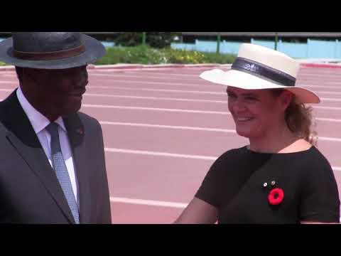 COTE D'IVOIRE: Visite d amitié et de travail en RCI de son excellence la tres honorable Julie PAYETTE,Gouverneure Générale du Canada