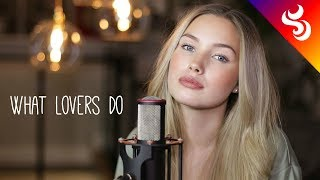Video Top 5 Covers of WHAT LOVERS DO - MAROON 5 MP3, 3GP, MP4, WEBM, AVI, FLV Maret 2018