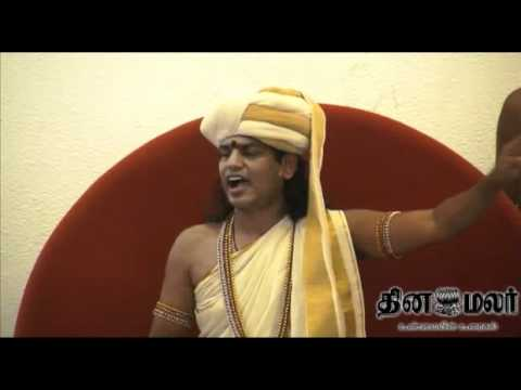 thinamalar - Godman video controversy: Nithyananda files criminal complaint.