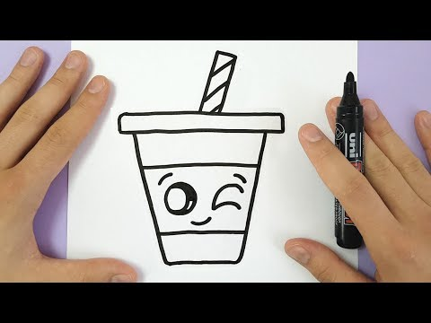 Video HOW TO DRAW A CUTE DRINK - SUPER EASY AND KAWAII download in MP3, 3GP, MP4, WEBM, AVI, FLV January 2017