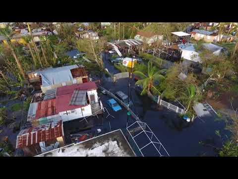 Το Πουέρτο Ρίκο μετά το πέρασμα της φονικής «Maria» από drone
