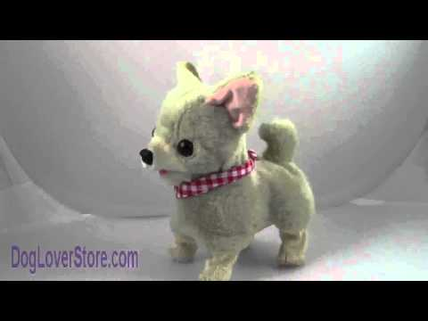 Lifelike Barking Walking Stuffed Dog Breed Animal