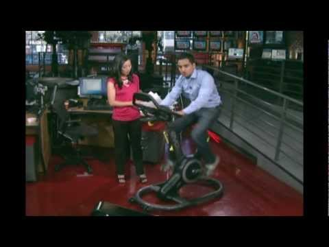 Evo Fitness Bike on CP24: Toronto's Breaking News